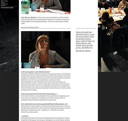 Entrevista Westfäelisches Landestheater